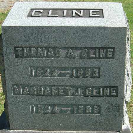 CLINE, MARGARET J - Franklin County, Ohio | MARGARET J CLINE - Ohio Gravestone Photos