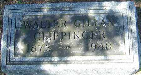 CLIPPINGER, WALTER GILLAN - Franklin County, Ohio | WALTER GILLAN CLIPPINGER - Ohio Gravestone Photos