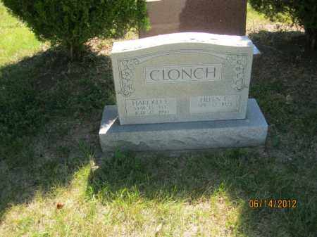 CLONCH, HAROLD EMIL - Franklin County, Ohio | HAROLD EMIL CLONCH - Ohio Gravestone Photos