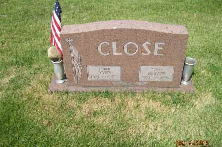 HENRY CLOSE, BESSIE E - Franklin County, Ohio | BESSIE E HENRY CLOSE - Ohio Gravestone Photos