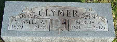 CLYMER, CHARLES A - Franklin County, Ohio | CHARLES A CLYMER - Ohio Gravestone Photos