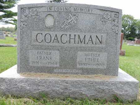 COACHMAN, FRANK - Franklin County, Ohio | FRANK COACHMAN - Ohio Gravestone Photos