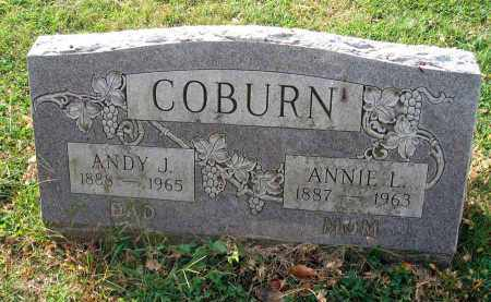 COBURN, ANNIE L. - Franklin County, Ohio | ANNIE L. COBURN - Ohio Gravestone Photos