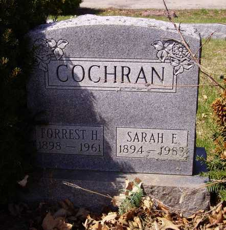 COCHRAN, SARAH E. - Franklin County, Ohio | SARAH E. COCHRAN - Ohio Gravestone Photos