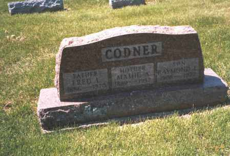 CODNER, MAMIE A. - Franklin County, Ohio | MAMIE A. CODNER - Ohio Gravestone Photos