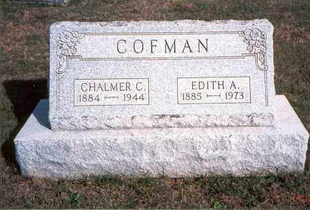 COFMAN, EDITH A. - Franklin County, Ohio | EDITH A. COFMAN - Ohio Gravestone Photos
