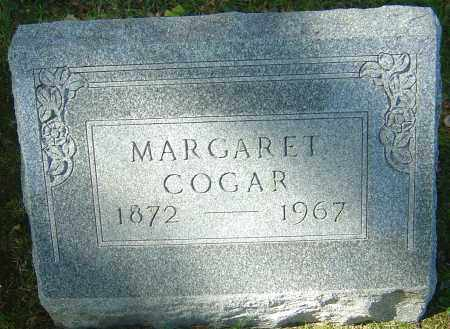 COGAR, MARGARET - Franklin County, Ohio | MARGARET COGAR - Ohio Gravestone Photos