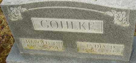 COHLKE, HAROLD C - Franklin County, Ohio | HAROLD C COHLKE - Ohio Gravestone Photos