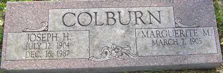 COLBURN, JOSEPH - Franklin County, Ohio | JOSEPH COLBURN - Ohio Gravestone Photos