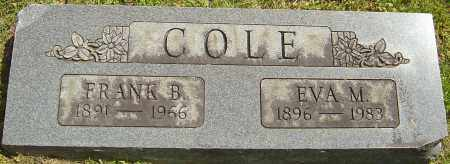 COLE, FRANK B - Franklin County, Ohio | FRANK B COLE - Ohio Gravestone Photos