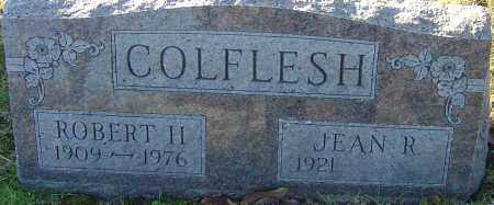 COLFLESH, ROBERT H - Franklin County, Ohio | ROBERT H COLFLESH - Ohio Gravestone Photos