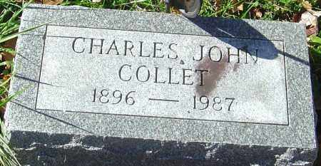 COLLET, CHARLES JOHN - Franklin County, Ohio | CHARLES JOHN COLLET - Ohio Gravestone Photos