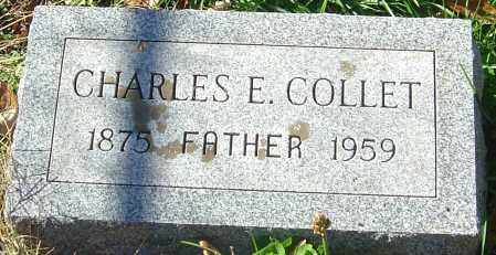 COLLET, CHARLES EDWARD - Franklin County, Ohio | CHARLES EDWARD COLLET - Ohio Gravestone Photos