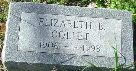 COLLET, ELIZABETH B - Franklin County, Ohio | ELIZABETH B COLLET - Ohio Gravestone Photos
