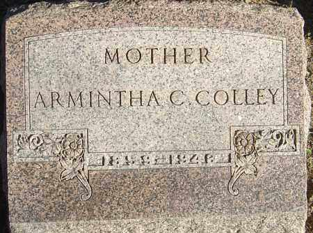 JOHNSTON COLLEY, ARMINTHA CAROLINE - Franklin County, Ohio | ARMINTHA CAROLINE JOHNSTON COLLEY - Ohio Gravestone Photos