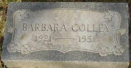 COLLEY, BARBARA - Franklin County, Ohio | BARBARA COLLEY - Ohio Gravestone Photos