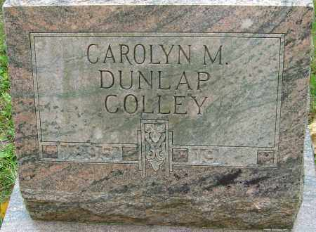 COLLEY, CAROLYN M - Franklin County, Ohio | CAROLYN M COLLEY - Ohio Gravestone Photos