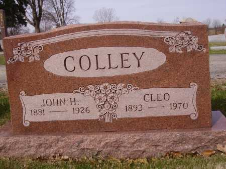 COLLEY, JOHN H. - Franklin County, Ohio | JOHN H. COLLEY - Ohio Gravestone Photos