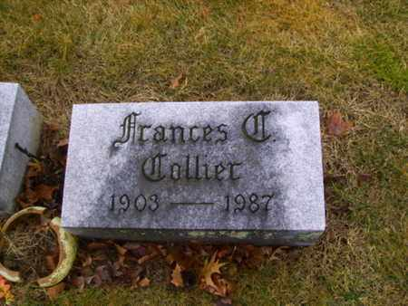 COLLIER, FRANCES - Franklin County, Ohio | FRANCES COLLIER - Ohio Gravestone Photos