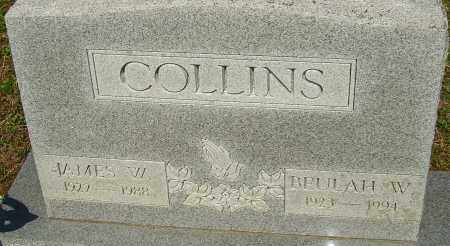 COLLINS, BEULAH W - Franklin County, Ohio | BEULAH W COLLINS - Ohio Gravestone Photos