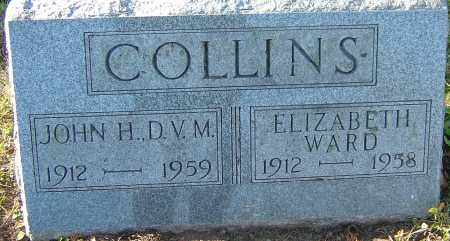 WARD COLLINS, ELIZABETH - Franklin County, Ohio | ELIZABETH WARD COLLINS - Ohio Gravestone Photos