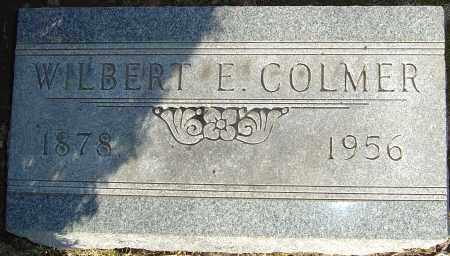 COLMER, WILBERT E - Franklin County, Ohio | WILBERT E COLMER - Ohio Gravestone Photos