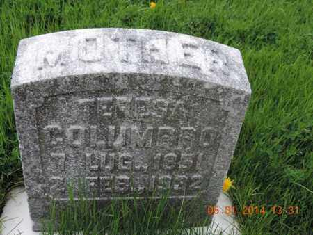 COLUMBRO, TERESA - Franklin County, Ohio | TERESA COLUMBRO - Ohio Gravestone Photos
