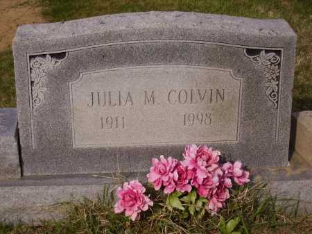 COLVIN, JULIA M. - Franklin County, Ohio | JULIA M. COLVIN - Ohio Gravestone Photos