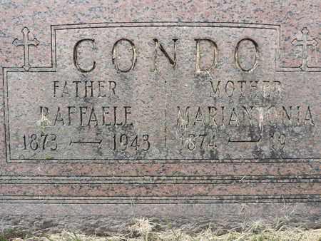CONDO, MARIANTONIA - Franklin County, Ohio | MARIANTONIA CONDO - Ohio Gravestone Photos