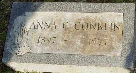 CONKLIN, ANNA C - Franklin County, Ohio   ANNA C CONKLIN - Ohio Gravestone Photos