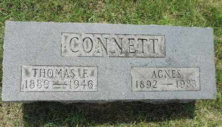 CONNETT, AGNES - Franklin County, Ohio | AGNES CONNETT - Ohio Gravestone Photos