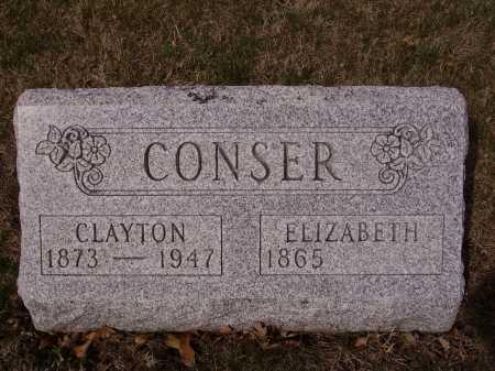CONSER, ELIZABETH - Franklin County, Ohio | ELIZABETH CONSER - Ohio Gravestone Photos
