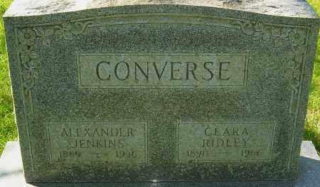 RIDLEY CONVERSE, CLARA - Franklin County, Ohio | CLARA RIDLEY CONVERSE - Ohio Gravestone Photos