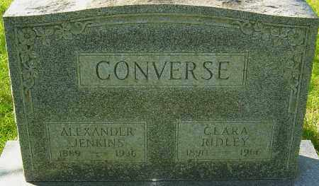 CONVERSE, ALEXANDER J - Franklin County, Ohio | ALEXANDER J CONVERSE - Ohio Gravestone Photos
