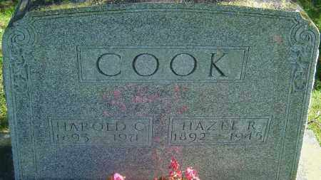 COOK, HAZEL REED - Franklin County, Ohio | HAZEL REED COOK - Ohio Gravestone Photos
