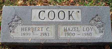 COOK, HAZEL - Franklin County, Ohio | HAZEL COOK - Ohio Gravestone Photos