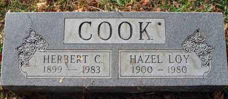 LOY COOK, HAZEL - Franklin County, Ohio | HAZEL LOY COOK - Ohio Gravestone Photos