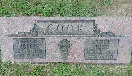 COOK, JOSEPH - Franklin County, Ohio | JOSEPH COOK - Ohio Gravestone Photos