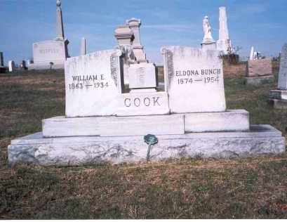COOK, WILLIAM E. - Franklin County, Ohio | WILLIAM E. COOK - Ohio Gravestone Photos