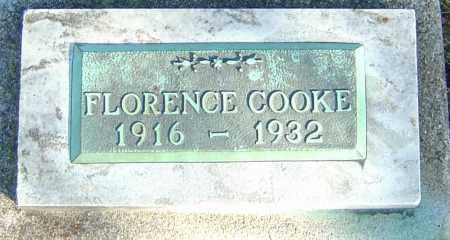COOKE, FLORENCE IDA - Franklin County, Ohio | FLORENCE IDA COOKE - Ohio Gravestone Photos