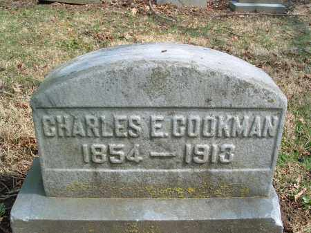 COOKMAN, CHARLES E. - Franklin County, Ohio | CHARLES E. COOKMAN - Ohio Gravestone Photos