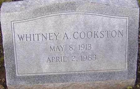 COOKSTON, WHITNEY - Franklin County, Ohio | WHITNEY COOKSTON - Ohio Gravestone Photos