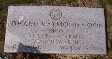 COON, EDWARD RAYMOND - Franklin County, Ohio | EDWARD RAYMOND COON - Ohio Gravestone Photos