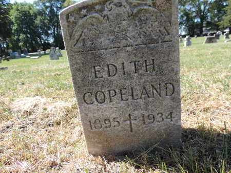 COPELAND, EDITH - Franklin County, Ohio | EDITH COPELAND - Ohio Gravestone Photos