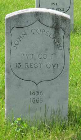 COPELAND, JOHN - Franklin County, Ohio | JOHN COPELAND - Ohio Gravestone Photos