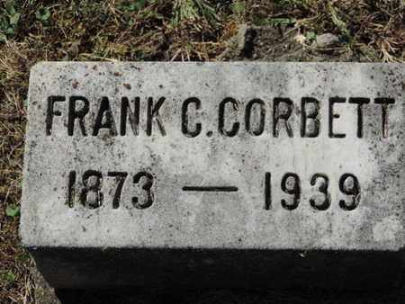 CORBETT, FRANK C. - Franklin County, Ohio | FRANK C. CORBETT - Ohio Gravestone Photos