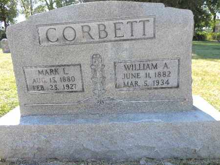 CORBETT, WILLIAM A - Franklin County, Ohio | WILLIAM A CORBETT - Ohio Gravestone Photos