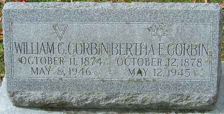 CORBIN, WILLIAM C - Franklin County, Ohio | WILLIAM C CORBIN - Ohio Gravestone Photos