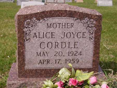 CORDELL, ALICE JOYCE - Franklin County, Ohio | ALICE JOYCE CORDELL - Ohio Gravestone Photos