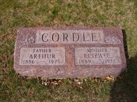 CORDLE, ARTHUR - Franklin County, Ohio | ARTHUR CORDLE - Ohio Gravestone Photos
